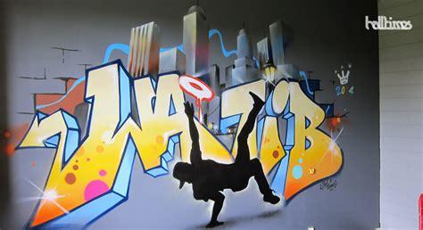 deco chambre garcon 10 ans fresque graffiti chambre enfant halltimes graffeur
