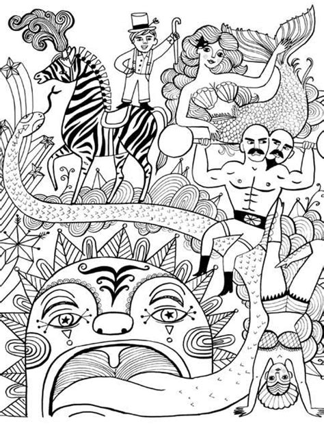 Just Add Color: Circus: 30 Original Illustrations To Color