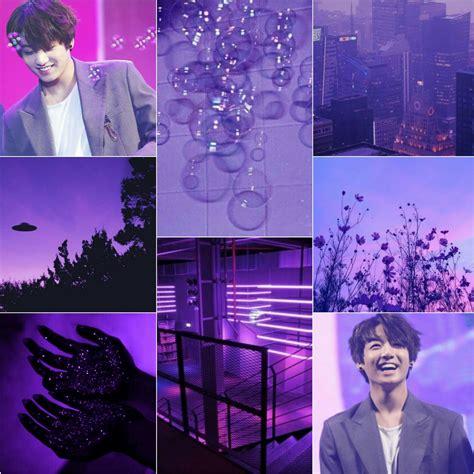 bts ot7 purple aesthetic wallpaper bts ot7 taehyung