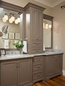 farmhouse master bathroom design ideas remodels photos With kitchen cabinet trends 2018 combined with iron gate wall art
