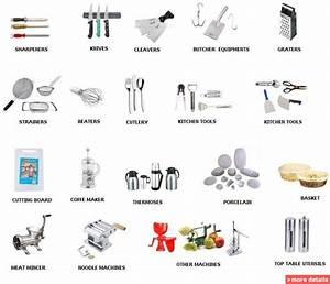 Kitchen Utensils Equipment Names | Cooking Utensils ...
