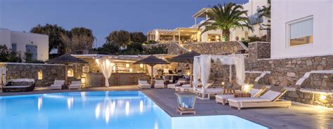 Pool Bar by Pool Bar Mykonos Vencia Hotel Pool Bar