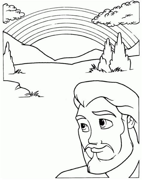 noahs ark coloring page coloring home 304 | rcLn8bAc8