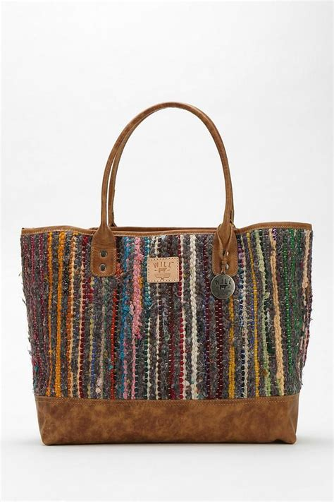 Rug In A Bag by Will Leather Goods Silk Rag Rug Tote Bag New Arrivals
