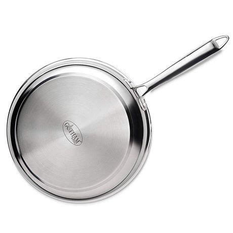 cookware ceramic steel gotham tri pro copper titanium pans ply chef stainless bonded coated dishwasher surface safe ultimate release nonstick