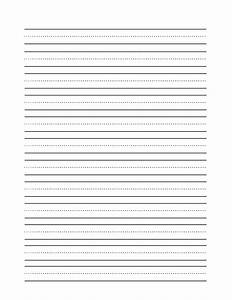 free printable story paper for second grade reading With letter practice paper