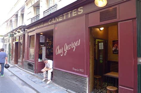 Comptoir Des Canettes by Chez Georges Quot Comptoir Des Canettes Quot Bistrot 6e