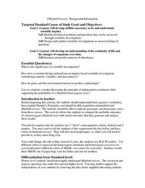 19 Best Images Of Reading Worksheets Based On Genetics  High School Genetics Worksheets