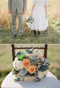 Pretty Peach And Gray Wedding Ideas