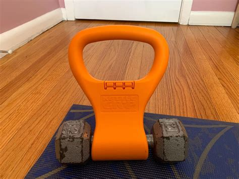 workout gear fitness gryp kettle dumbbells into kettlebell things person work kettlebells some staple turns those they expensive body think