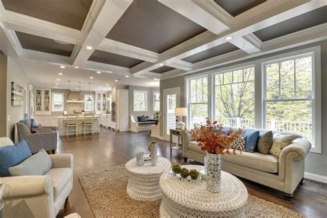Tray Ceiling Ideas Living Room by Open Concept Living Room Designs