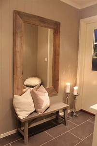 Meuble De Couloir Avec Banc : miroir couloir plus de 160 photos pour vous ~ Teatrodelosmanantiales.com Idées de Décoration