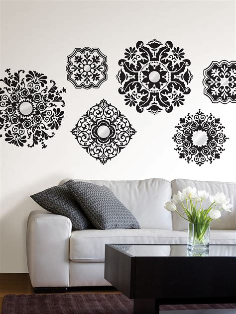 Black And White Wall Decals  Top Dandelion Wall Sticker