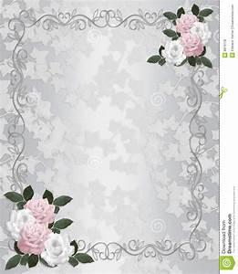 Wedding Invitation Elegant Roses Royalty Free Stock Photos Image: 8819118