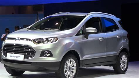 Ford Ecosport, A New Kind Of Suv Youtube