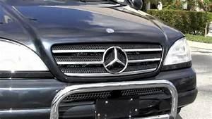 2000 Mercedes-benz Ml320 Black Opal Metallic T2736b