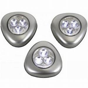 Led Beleuchtung Mit Batterie : led leuchte selbstklebend 3er set silber batteriebetrieb touch leuchten 5410329398798 ebay ~ Whattoseeinmadrid.com Haus und Dekorationen