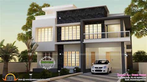 contemporary plan simple contemporary house and plan kerala home design