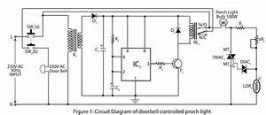 doorbell controlled porch light electronics project With doorbell cascade circuit diagram