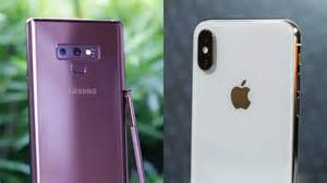samsung galaxy note 9 apple iphone comparison rev 252