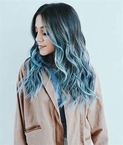 Blaue Haare Ombre : 25 best ideas about blaue haare auf pinterest dunkelblaue haare dunkelblaue augen und bunte ~ Frokenaadalensverden.com Haus und Dekorationen