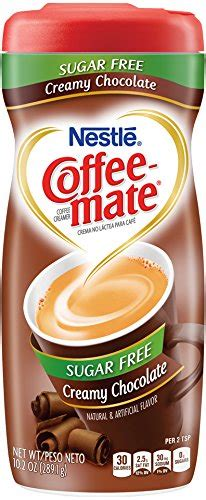 You can still use some sweet alternatives such as edge, firefox and chrome. Coffee-mate Sugar Free Creamy Chocolate Powdered Coffee ...