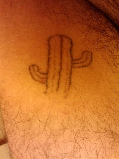simple cactus tattoos