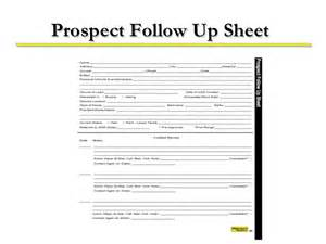 Sales Lead Sheet Template Boost Your Business 8 5 Guiding Principles Of Follow Up