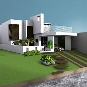 House Villa Residence Building Free 3d Model ID7056 - Free ...