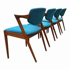 Esszimmerstühle Türkis : 42 esszimmerst hle in t rkis von kai kristiansen f r schou ~ Pilothousefishingboats.com Haus und Dekorationen
