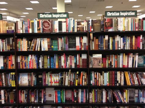 Barnes Nobles Books by Religion Section At Barnes And Noble Same Books