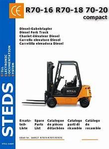 Original Illustrated Factory Parts Manual For Still Diesel