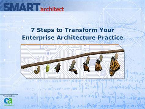 steps  transform  enterprise architecture practice