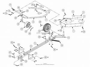 Dr Power Yard Trimmer Ser  000001 To Current Parts Diagram For Frame  U0026 Tow Bar