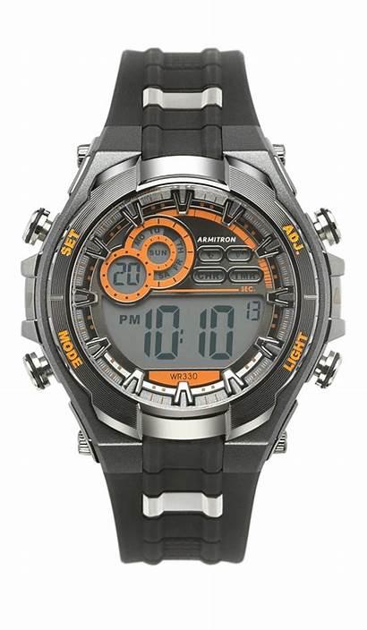 Digital Chronograph Sport Watches Pro 49mm Resin