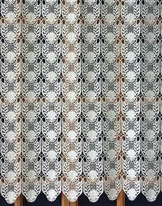 Rideau Macramé Au Mètre : rideau dentelle au metre ~ Teatrodelosmanantiales.com Idées de Décoration