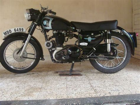 1956 ajs 16ms classic motorcycle