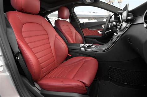Mercedes Benz C300 Red Interior Fiat World Test Drive