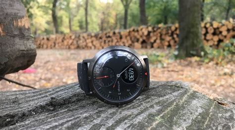 review steel hr sport withings is back with a sportier version of its hybrid