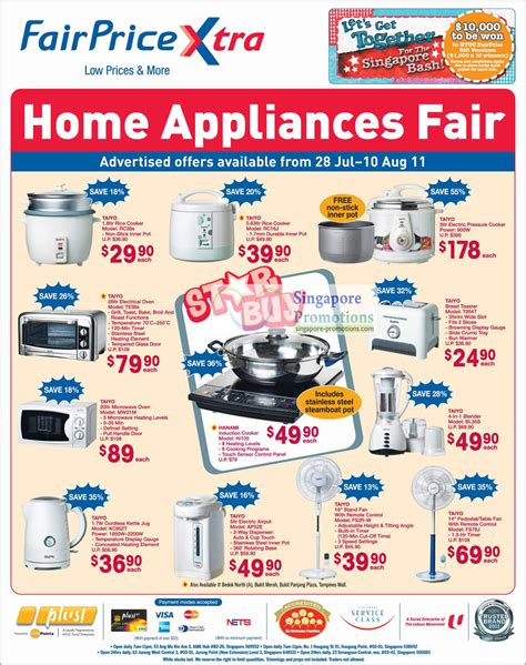 fairprice home appliances bedding groceries electronics