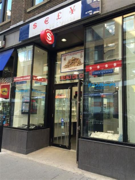 bureau de change horaire d ouverture 477 rue sainte catherine o montr 233 al qc