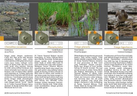buku burung baluran