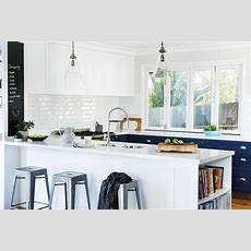 5 Kitchens That Use White Subway Tiles  Home Beautiful