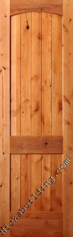 knotty alder interior wood doors