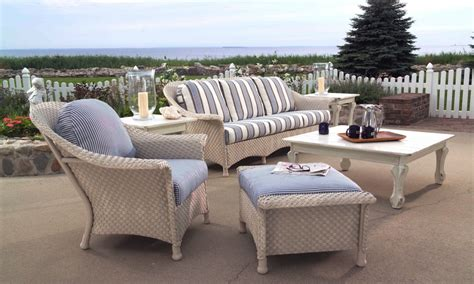 coastal patio furniture wicker chairs lloyd flanders white wicker outdoor furniture furniture
