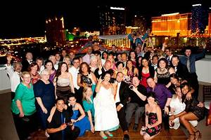 rooftop wedding in vegas complete with darth vader and With small las vegas wedding