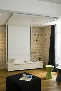 Lit Au Plafond Electrique : lit au plafond lit with lit au plafond prix lit ~ Premium-room.com Idées de Décoration
