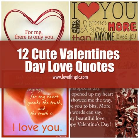 cute valentines day love quotes