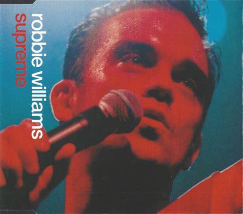 robbie williams supreme album supreme de robbie williams sur cdandlp
