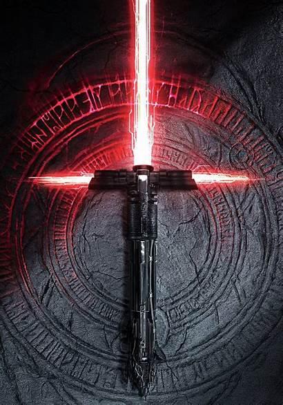Kylo Ren Wars Lightsaber Fallen Order Skywalker